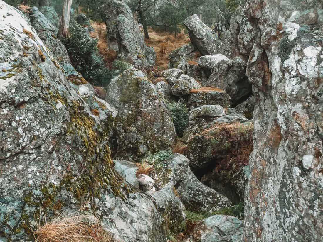 Hanging Rock, a Melbourne day trip