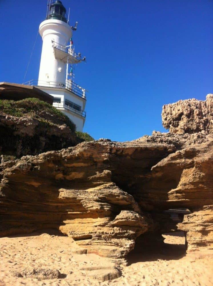 Point Lonsdale Lighthouse and Buckley's Cave in Victoria, Australia