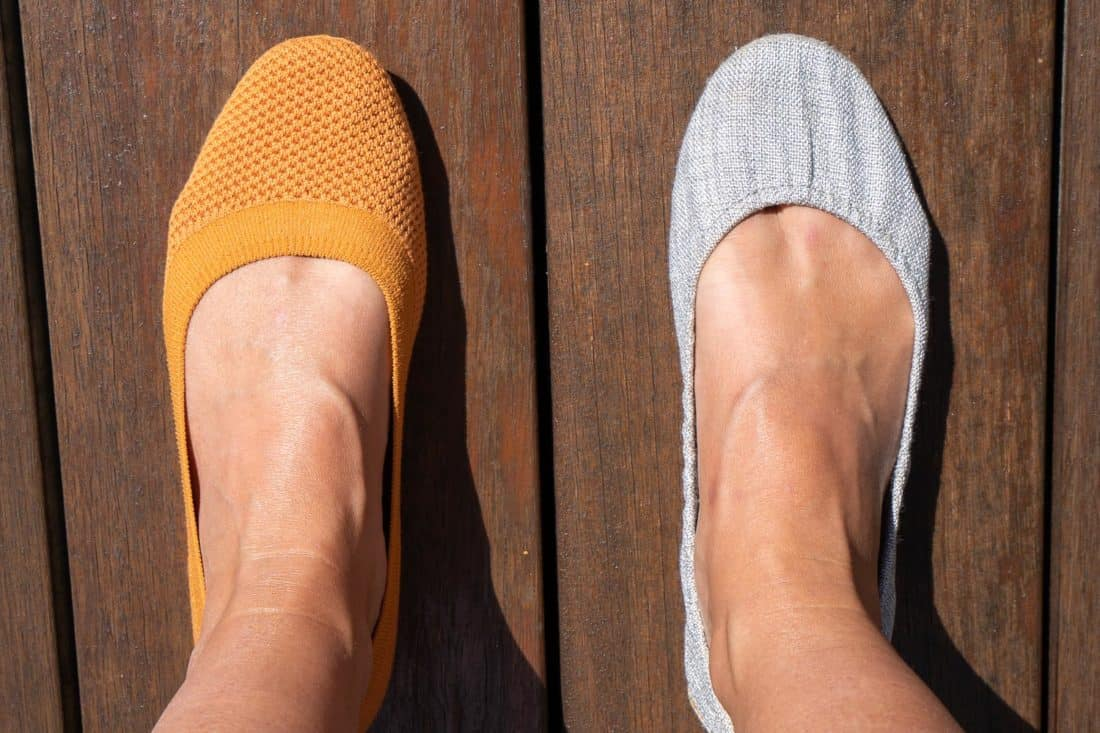 Allbirds flats vs Tieks - which are the most comfortable flats?