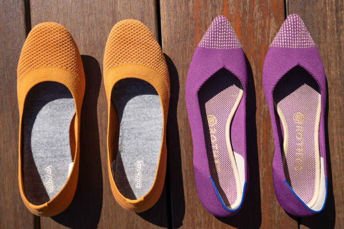 Allbirds vs Rothys: which are the best flats?