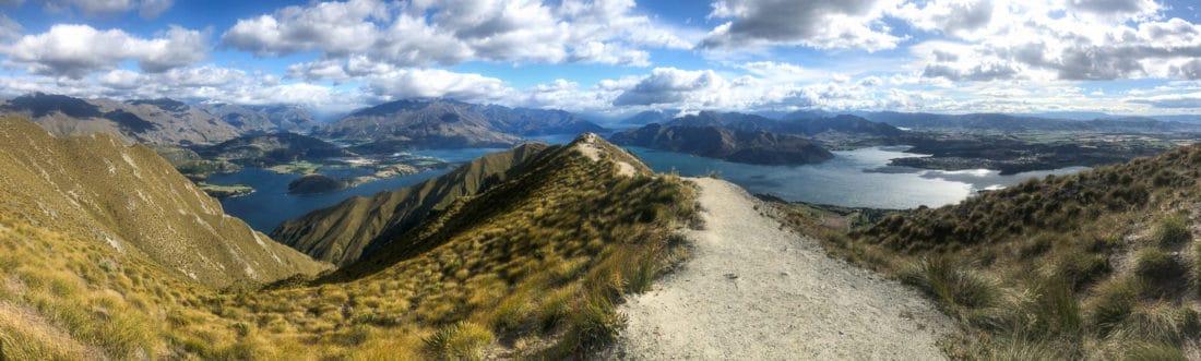 Roy's Peak viewpoint
