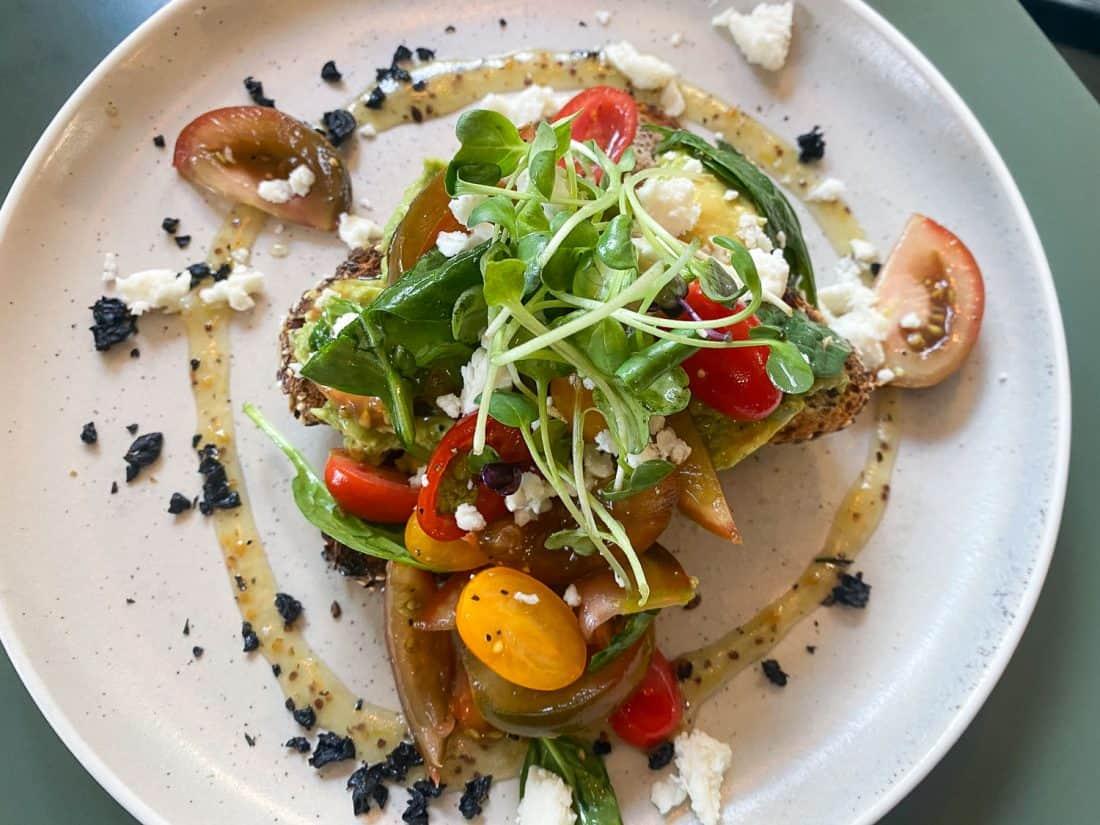 Avocado toast at Bespoke Kitchen, one of the best Queenstown restaurants