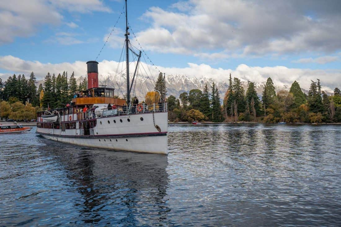 TSS Earnslaw, one of the top Queenstown attractions