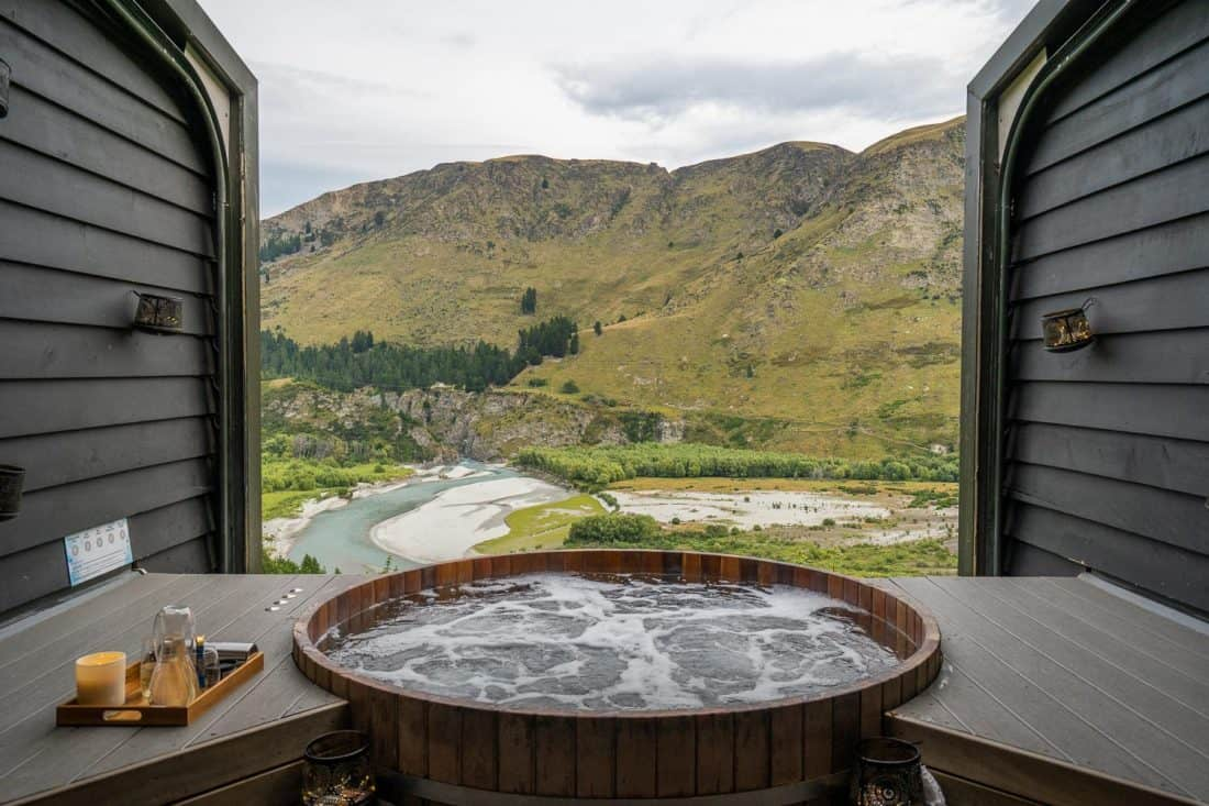Onsen Hot Pools, one of the best things to do in Queenstown
