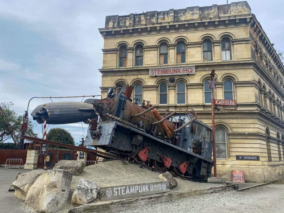 Steampunk HQ in Oamaru