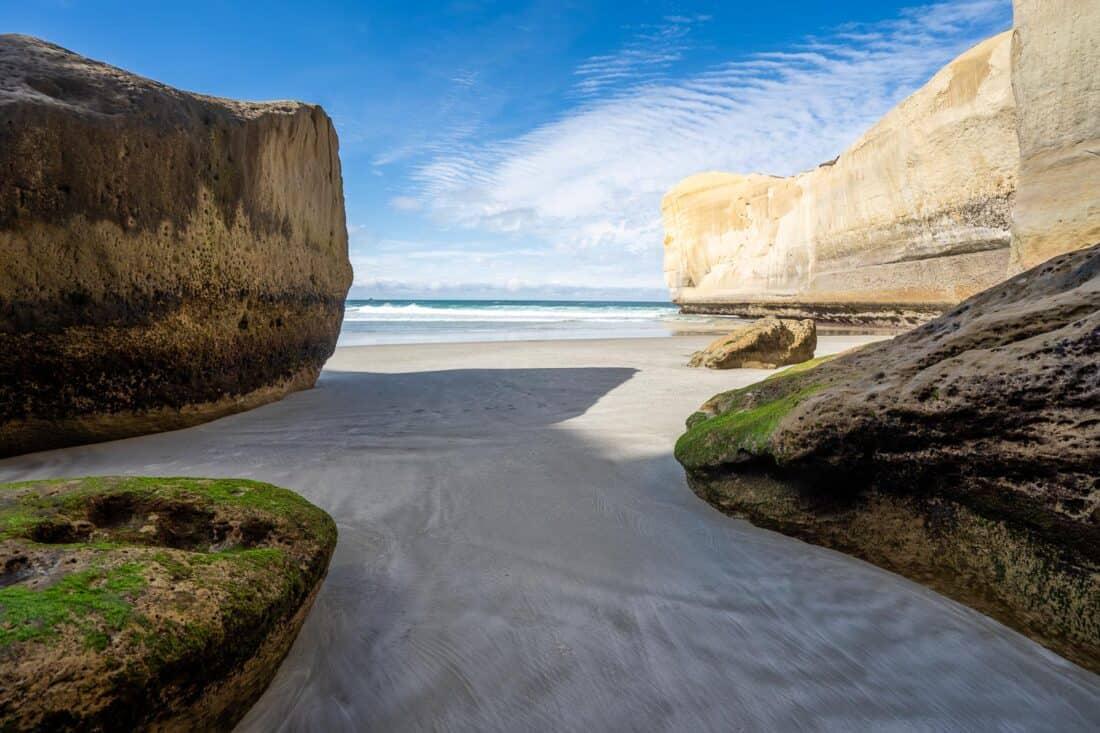 Tunnel Beach near Dunedin