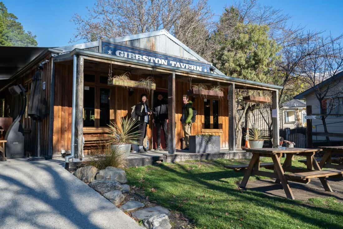 Gibbston Tavern in Central Otago