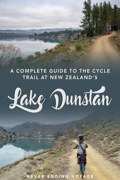 A guide to the Lake Dunstan cycle trail in New Zealand