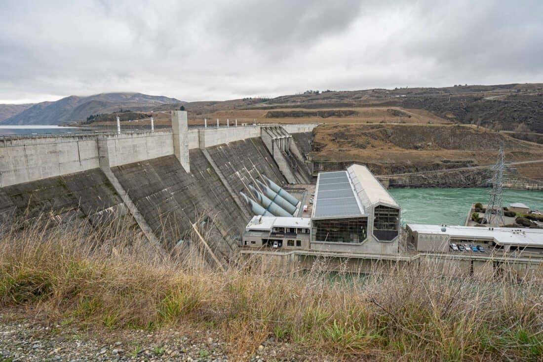 Clyde Dam in Central Otago, NZ