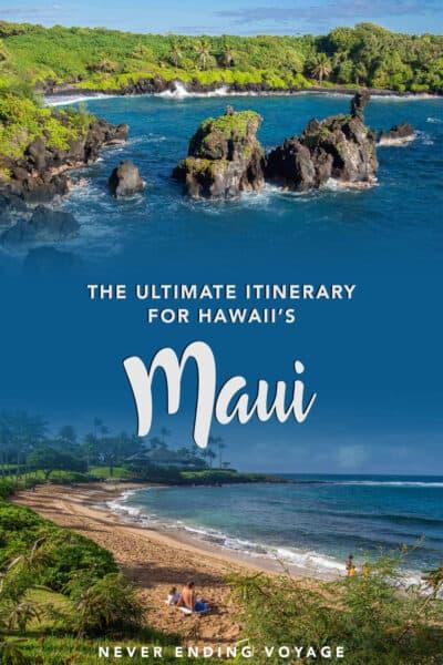 The ultimate Maui itinerary   hawaii travel, #hawaii