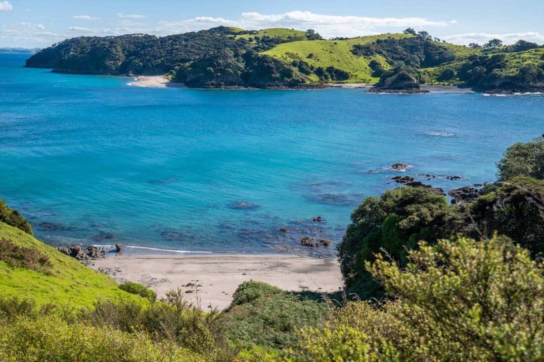 View from Urupukapuka Island in Bay of Islands NZ
