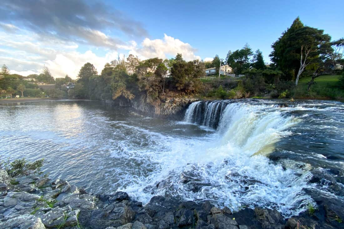 Haruru Falls near Paihia, one of the best Bay of Islands attractions