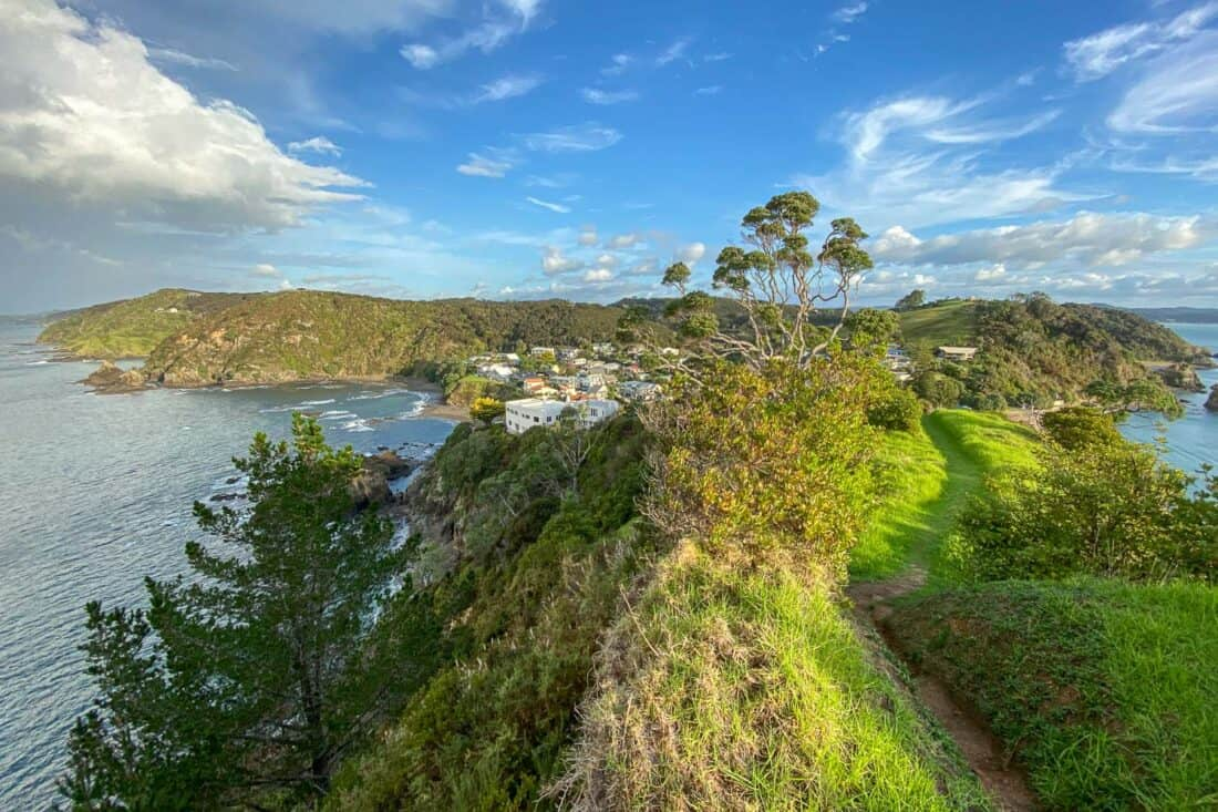 View from Tapeka Point Track in Russell, Bay of Islands