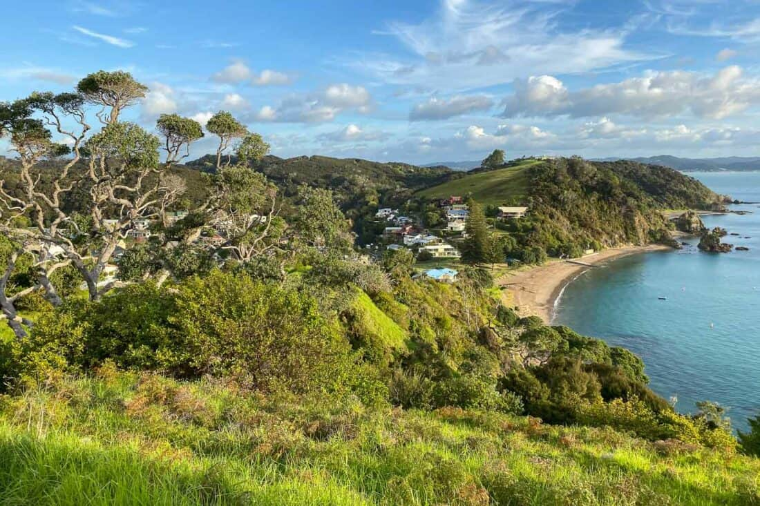 Tapeka Point Beach in Russell New Zealand
