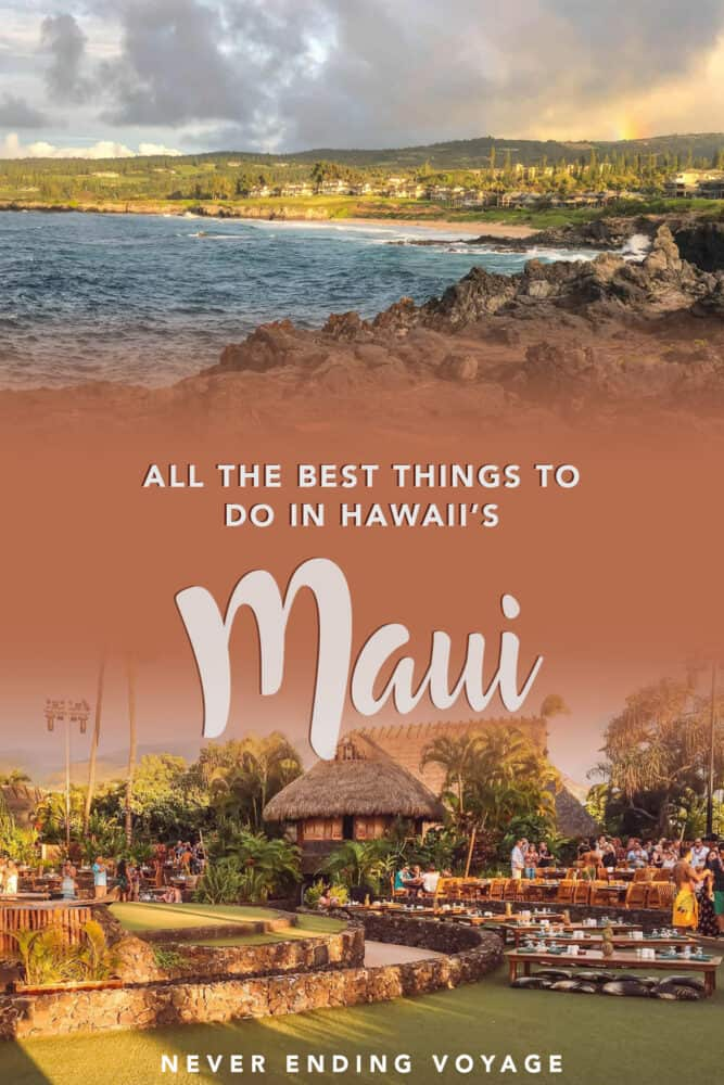 All the best things to do in Maui, #Hawaii!   #maui, hawaii travel