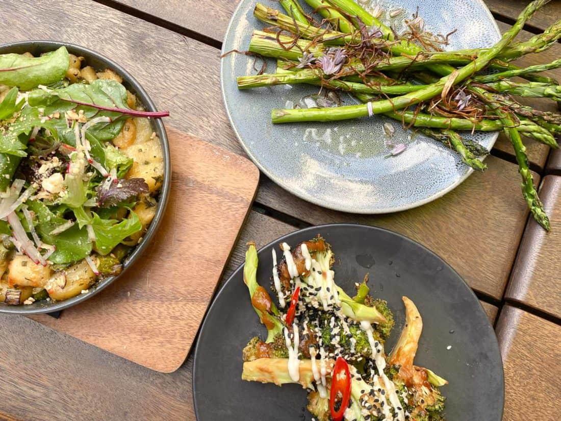 Vegetarian tapas at Arden restaurant in Nelson, New Zealand