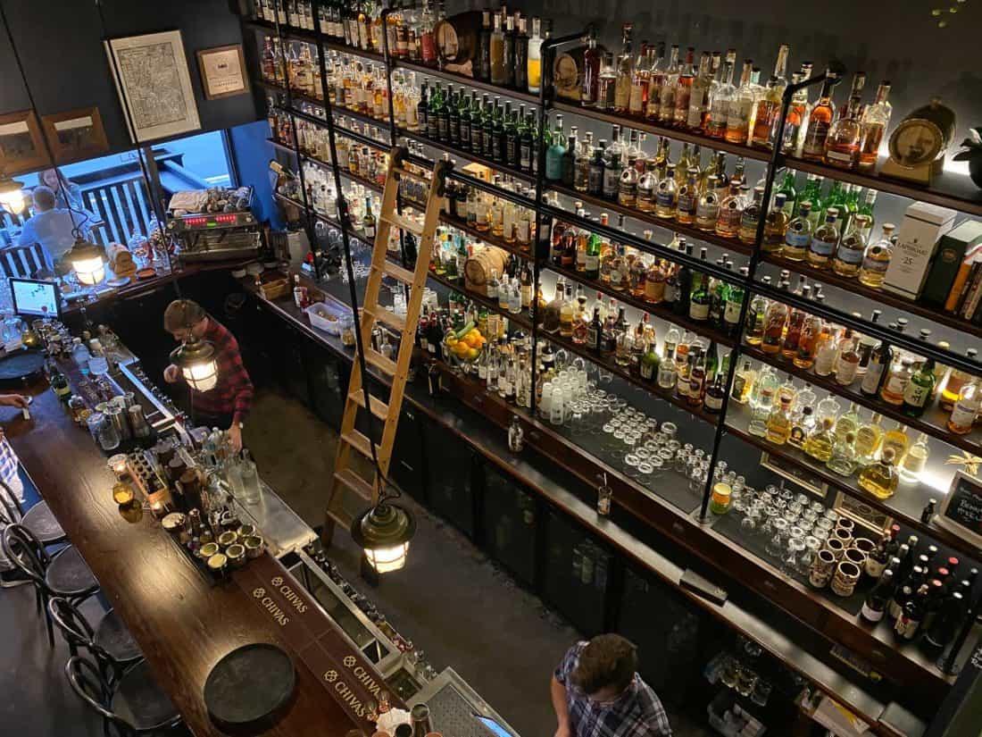 Kismet bar in Nelson NZ