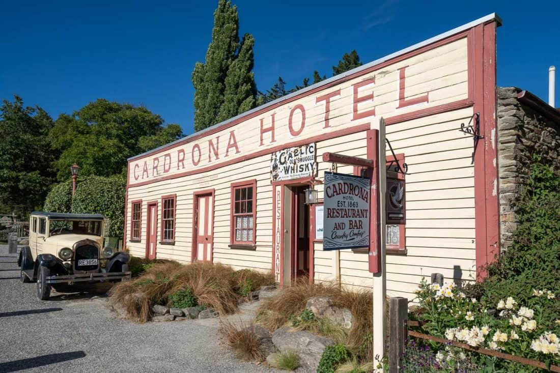 Cardrona Hotel, one of the oldest pubs in New Zealand