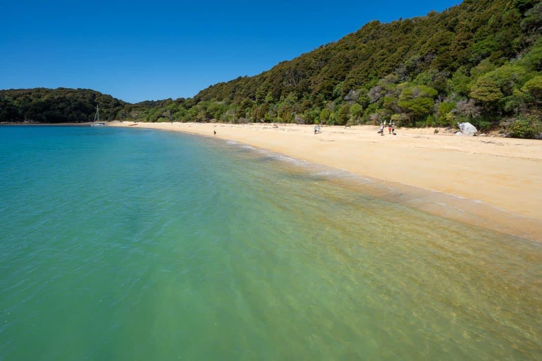 Anchorage Beach in Abel Tasman National Park, New Zealand