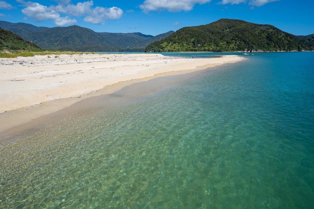 Awaroa Beach in Abel Tasman National Park