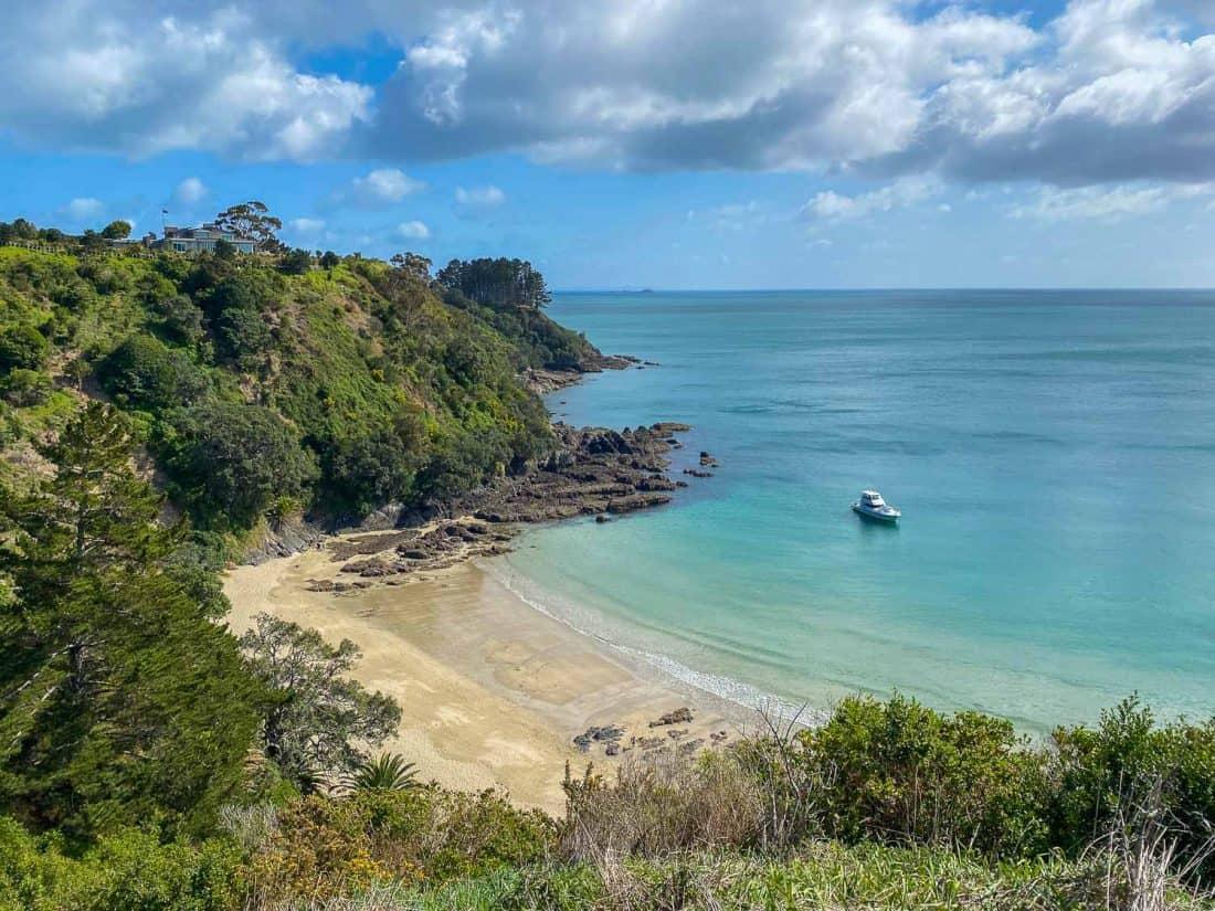 Little Palm Beach on Waiheke Island, New Zealand