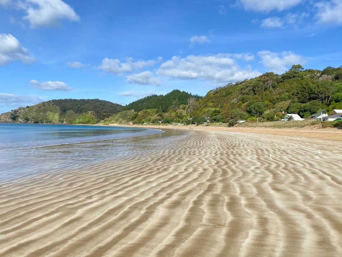 Long Beach near Russell in the Bay of Islands, New Zealand