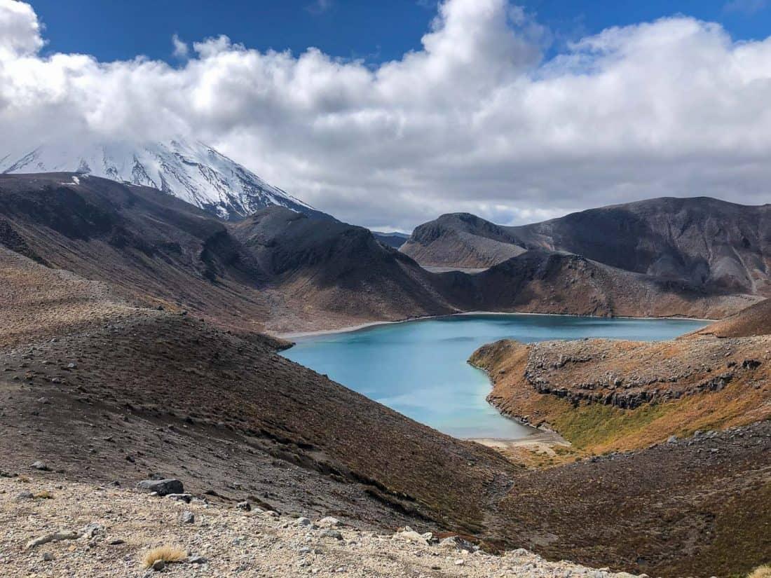 Upper Tama Lake in Tongariro National Park