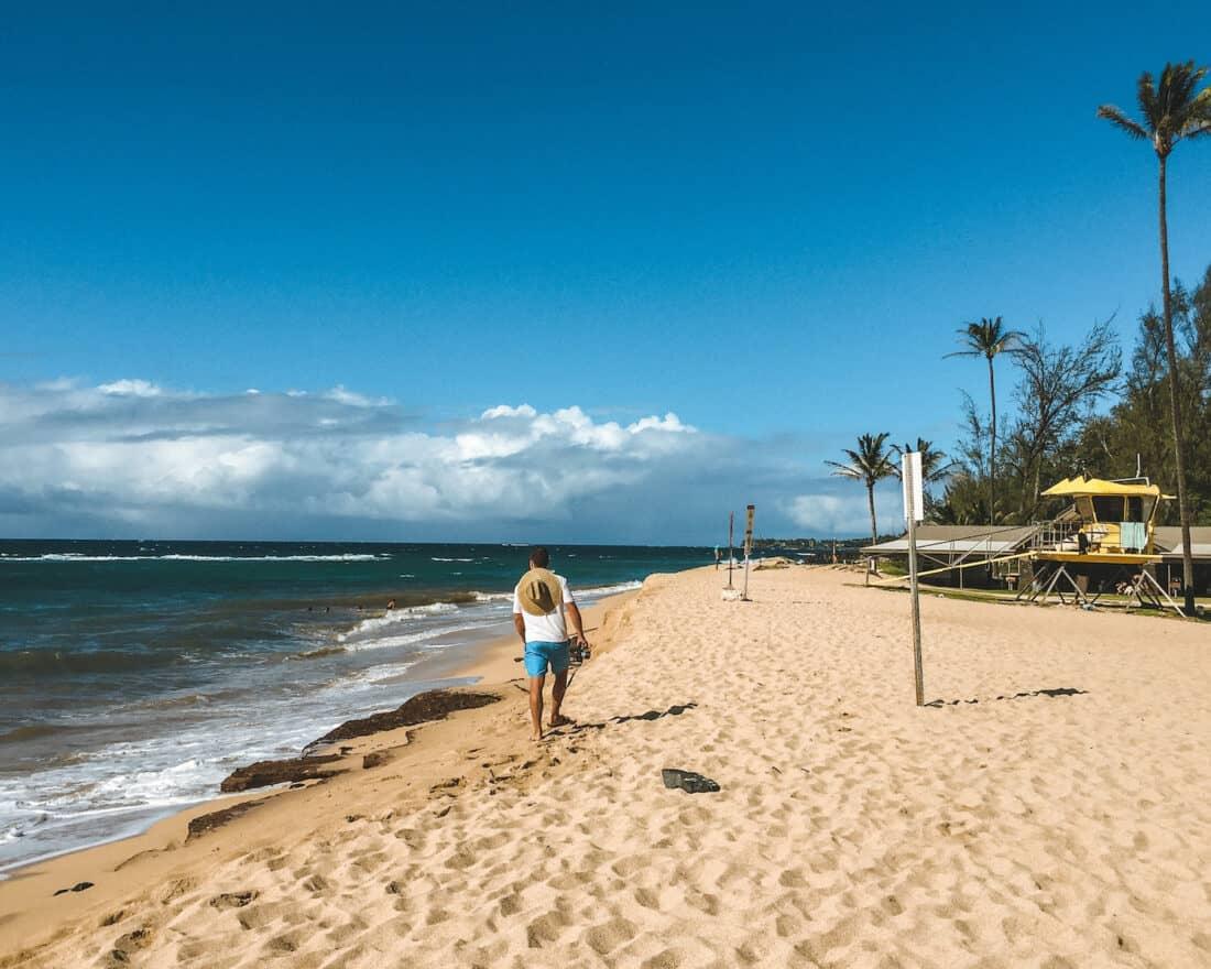 Ho'okipa Beach, Paia in Maui