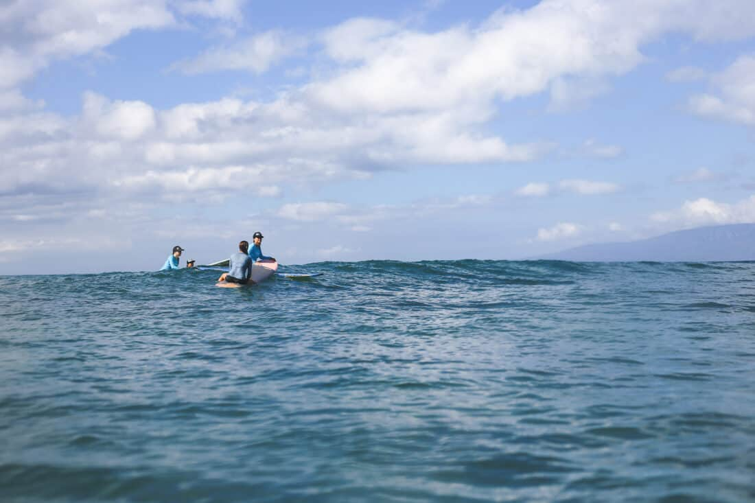 Surf lessons in Kihei is one of the top Maui activities