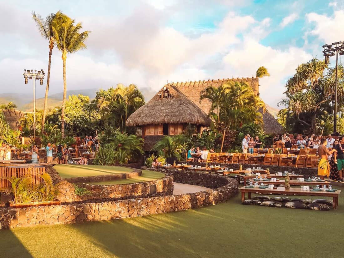 Lahaina Luau, Maui