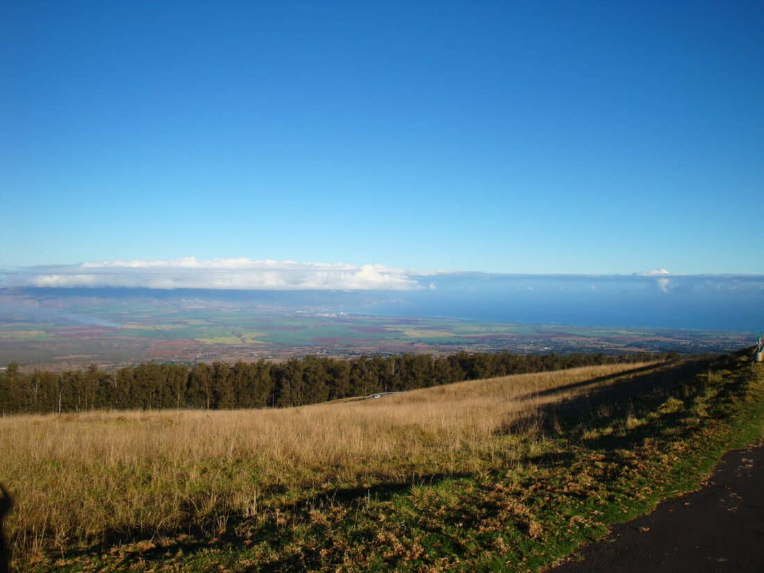 Cycling down Haleakala Crater, a Maui highlight