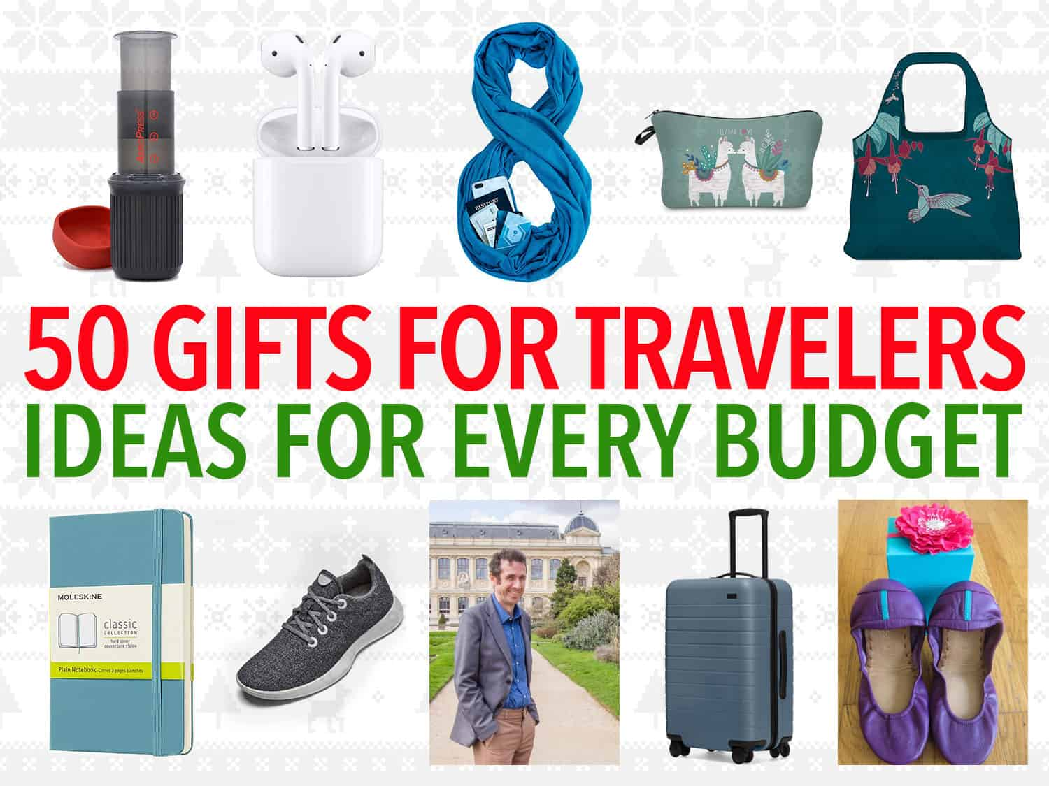 The best gifts for travelers in 2020 including small and useful travel gifts for every budget