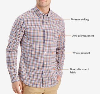 Bluffworks Zenith shirt is ideal for travel