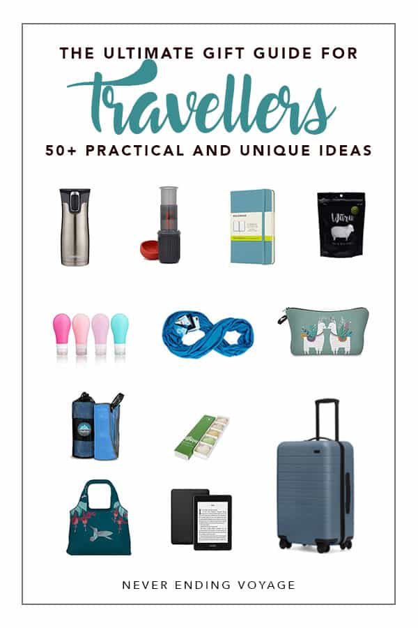 A complete travel gift guide! | gifts for travel, traveller gifts, traveler gifts, wanderlust gifts